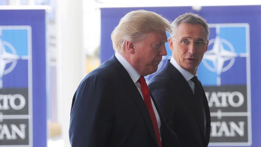 Trump se reunirá con Merkel y Macron durante la cumbre de la OTAN