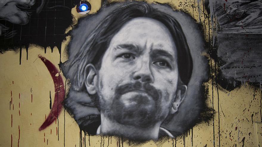 El retrato de Pablo Iglesias que se ha hecho viral