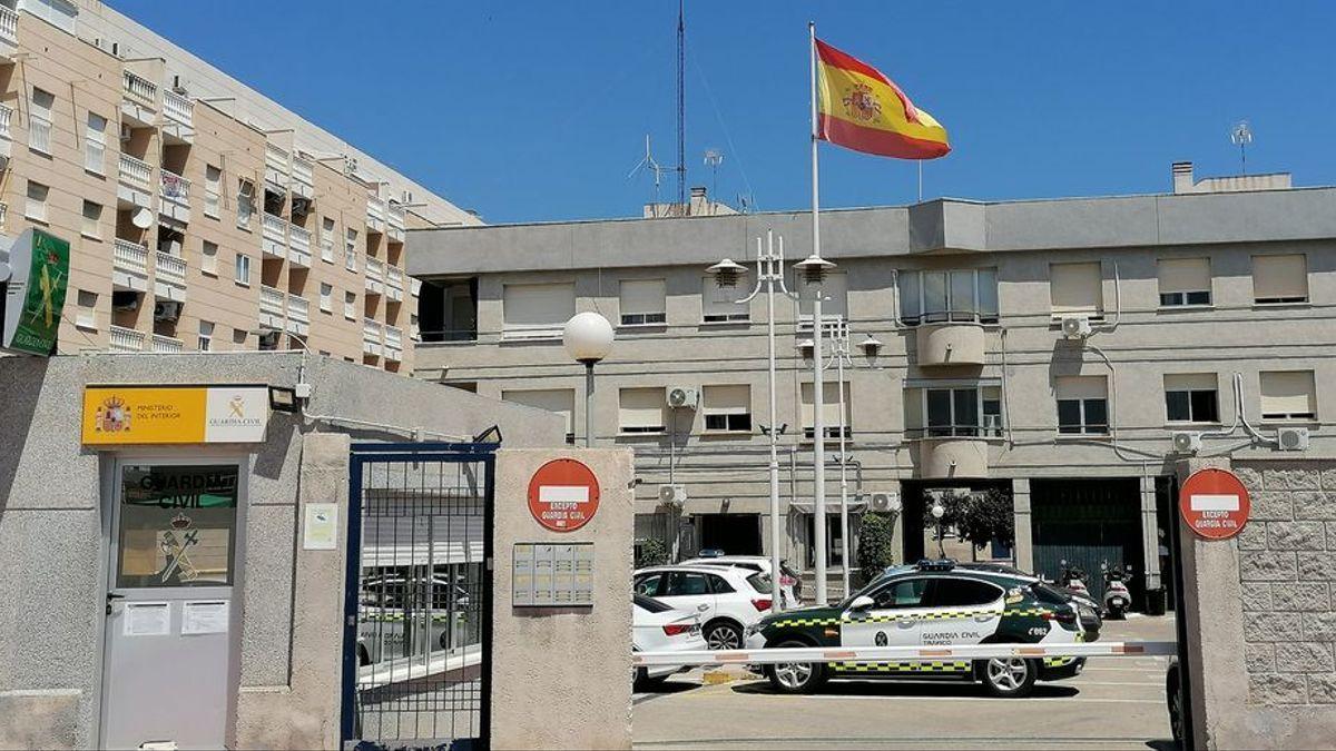 El cuartel de la Guardia Civil de Torrevieja.