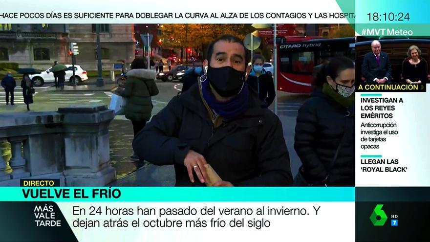 Miguel Ángel Ambrosio en 'Más vale tarde'