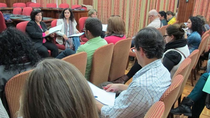 En la imagen, reunión del Consejo Insular de Servicios Sociales de La Palma.