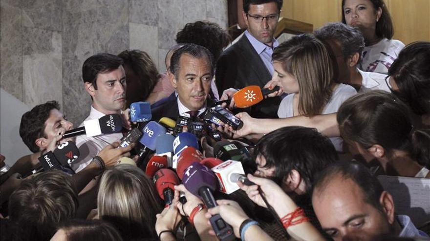 El consejero madrileño de Economía y Hacienda, Enrique Ossorio. / Efe