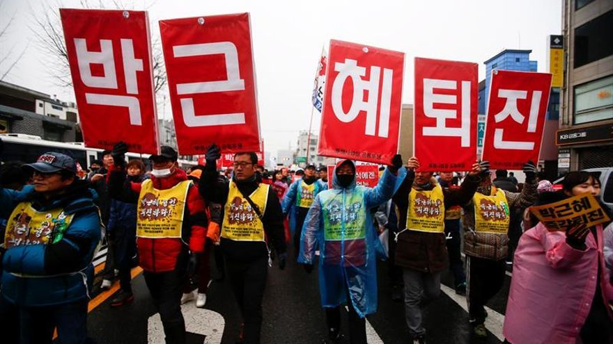 """La presidenta surcoreana se niega a ser interrogada por el caso de la """"Rasputina"""""""