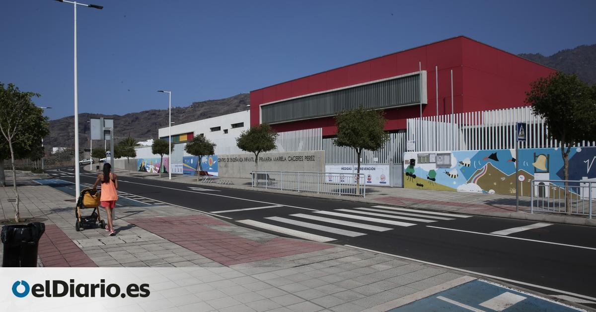Así vive La Palma el cierre de colegios por el volcán: las becas de comedor y trabajar las emociones será prioritario