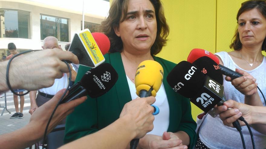 """Colau, sobre la renuncia de Iglesias al Gobierno: """"A Sánchez se le han acabado las excusas"""""""