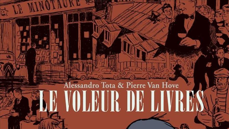 El París literario de Sartre y Vian se asoma a la viñeta