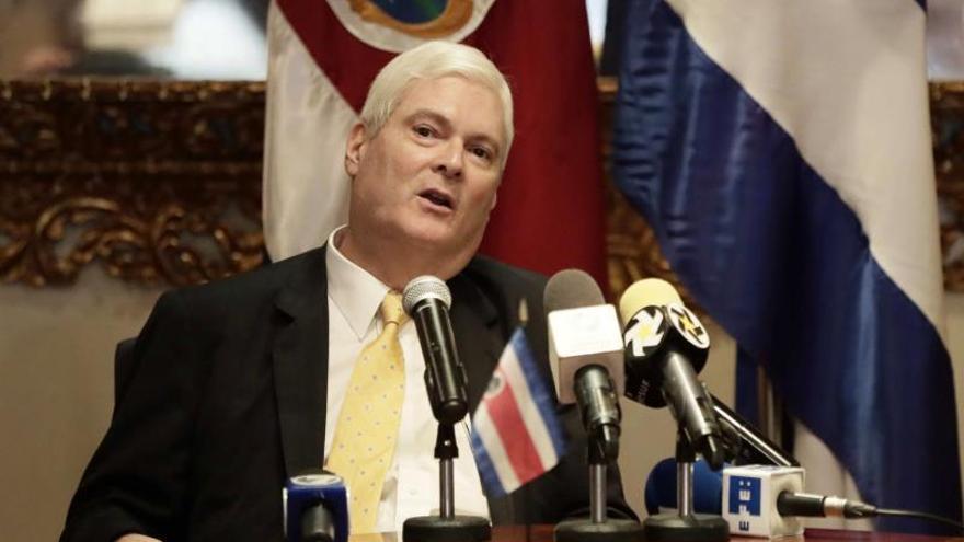 Costa Rica ordena el retorno del encargado de negocios en Venezuela