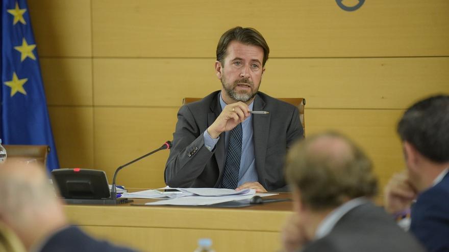 Carlos Alonso, presidente del Cabildo de Tenerife, en una imagen de archivo