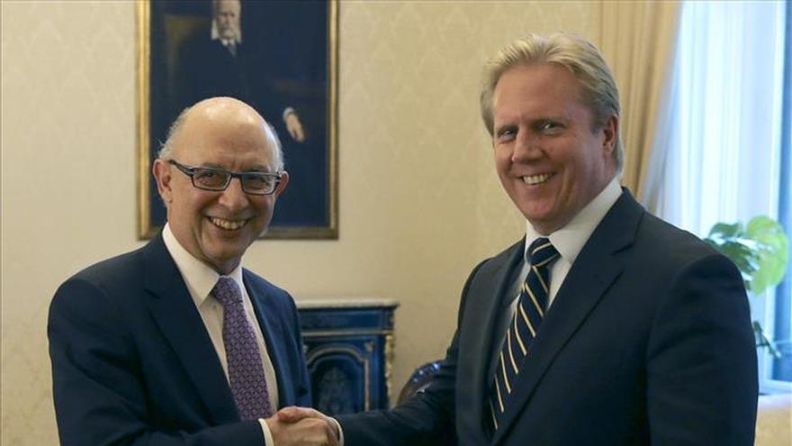 Montoro recibe a su homólogo neozelandés y ambos analizan las reformas económicas