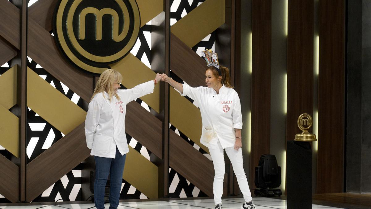 """Claudia y Analía en la final de """"Masterchef"""""""