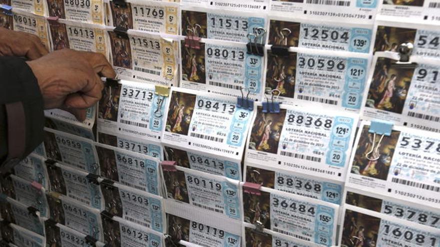 Administración de Loterías del Estado. Efe