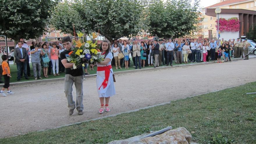 Vecinos de Berriozar, familiares y políticos recuerdan a Francisco Casanova, asesinado por ETA hace 14 años