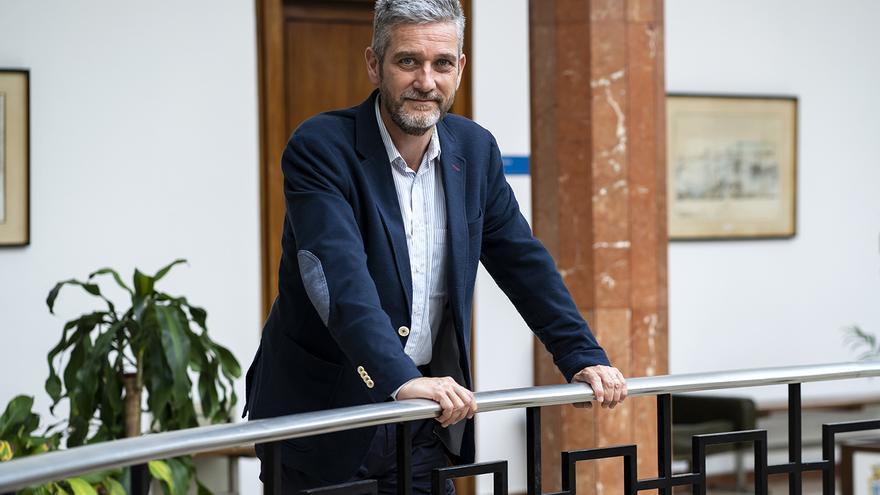Javier Ceruti, portavoz de Ciudadanos y del equipo de goierno en Santander. | JOAQUÍN G. SASTRE