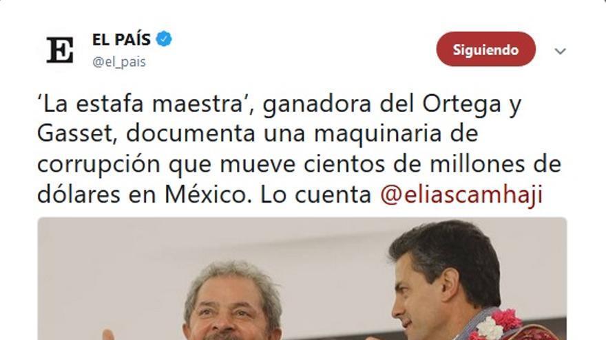 Estafa México Lula