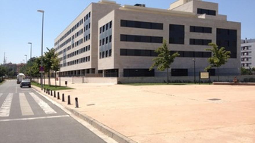 Imagen del edificio desde Riojafórum