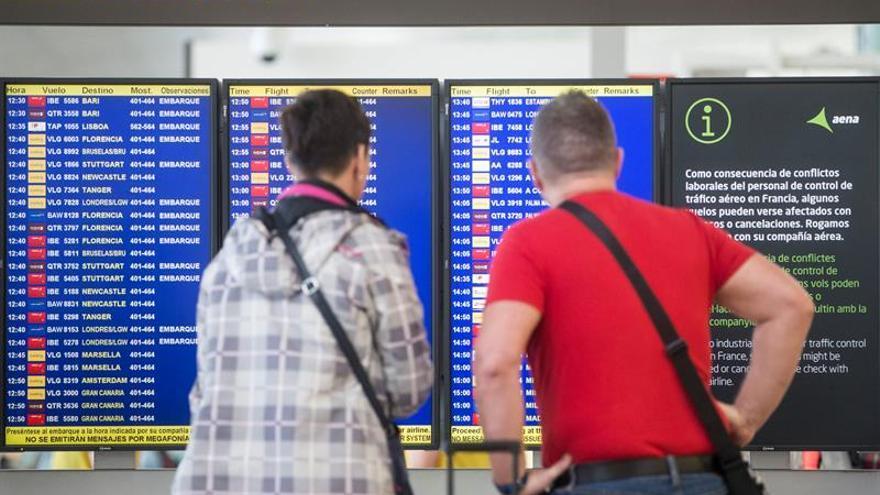 El tráfico aéreo de pasajeros en la Unión Europea aumentó en enero un 10 por ciento