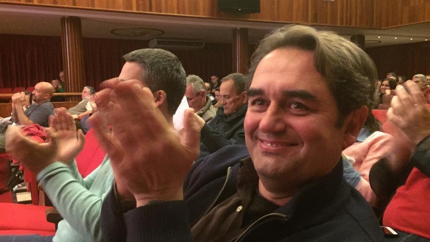 Pedro Fernández Arcila, concejal de Sí se Puede, y candidato a la Alcaldía capitalina.