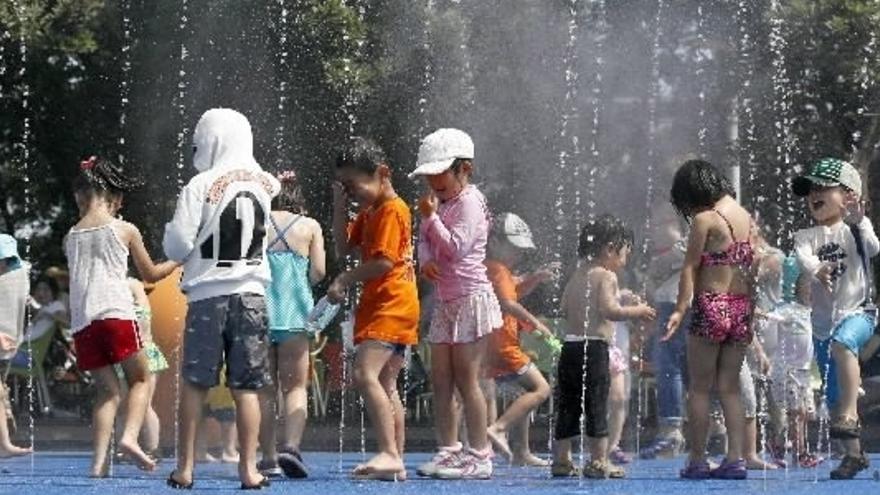 Niños en un campamento de verano. /EFE