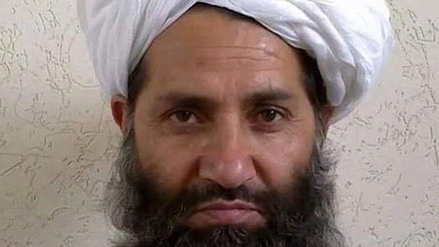 Hibatullah Akundzada, líder supremo de Afganistán y de los talibanes.