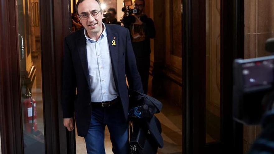 Josep Rull obtuvo un permiso penitenciario para visitar a su hijo en hospital