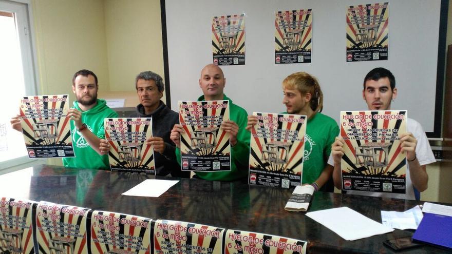 Marea Verde Aragón apoya la convocatoria. Foto: CGT