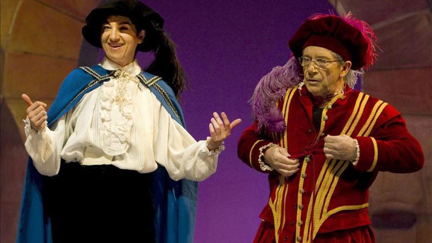 Joan Pera y Lloll Bertran se transmutan en Don Juan Tenorio y Doña Inés
