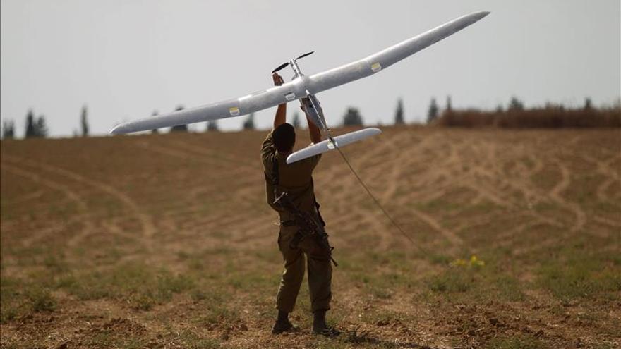 El brazo armado de Hamás dice tener en su poder el dron israelí caído en Gaza