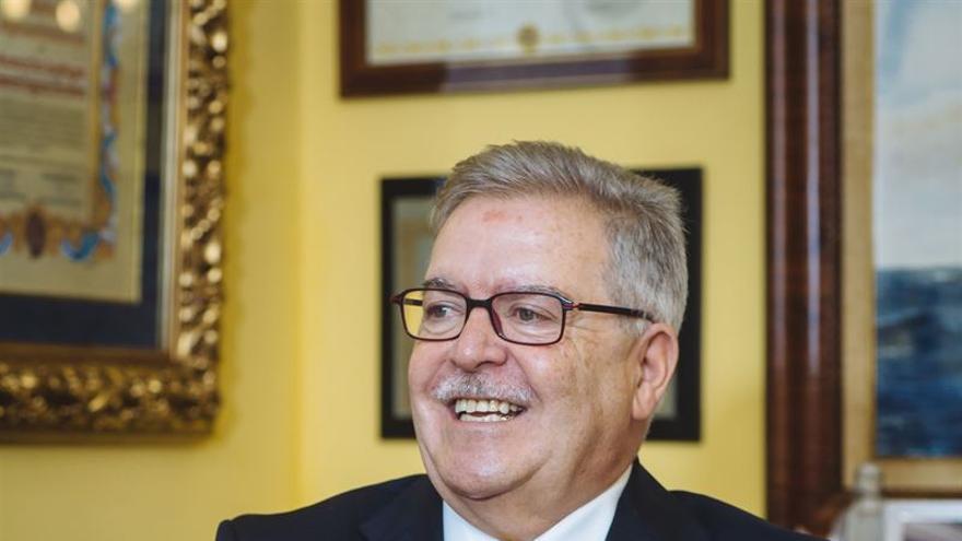 José Miguel Bravo de Laguna. (GERARDO OJEDA- CEDIDA POR EL CABILDO DE GRAN CANARIA)