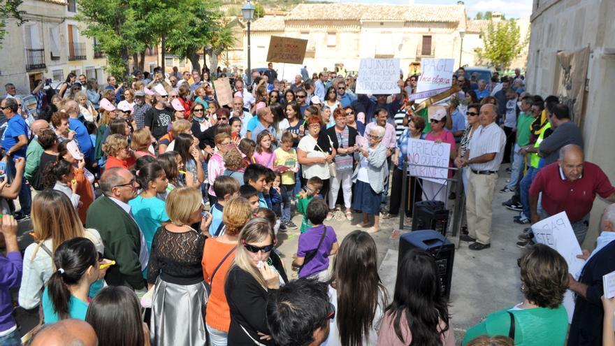 En la localidad de Priego ya se han producido varias protestas