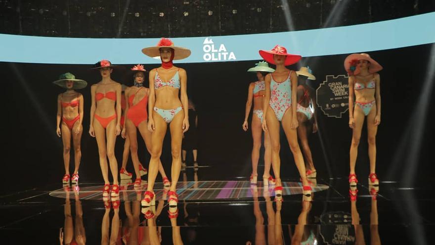 Jóvenes talentos protagonizan la jornada inaugural de la Semana de Moda Baño de Gran Canaria