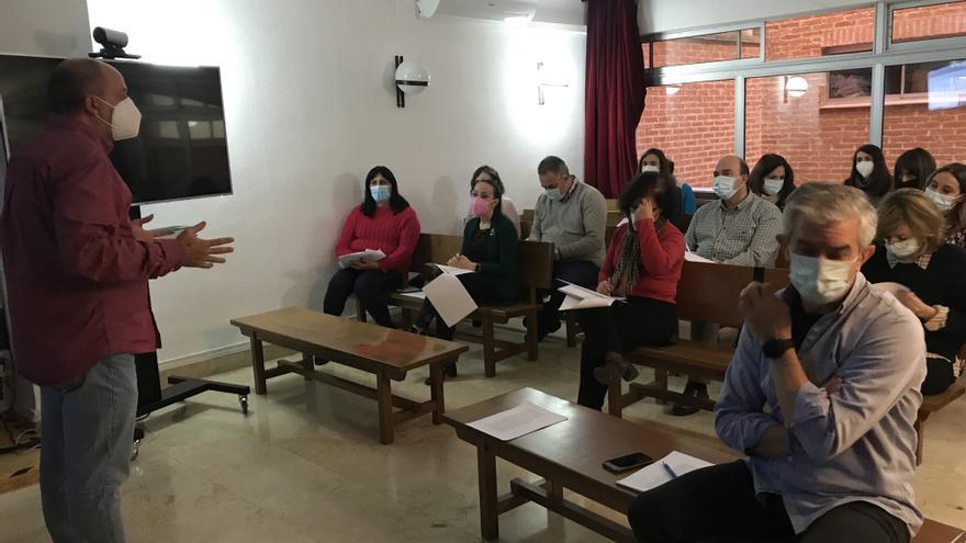 """El Ministerio de Justicia evalúa los riesgos laborales en los juzgados de Valdepeñas: """"Es un hito en España"""""""