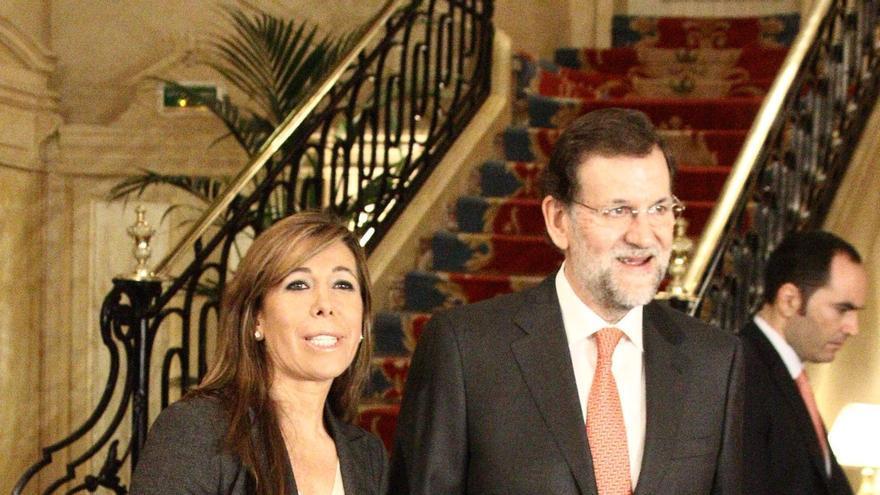 """Rajoy dice que Artur Mas tiene perdida la batalla internacional sobre la independencia y que cae en el """"ridículo"""""""