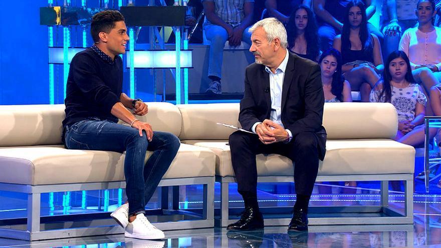 Carlos Sobera (14.4%) vuelve líder a Telecinco  y Mónica Naranjo (7.4%) eleva el late de Cuatro en su debut