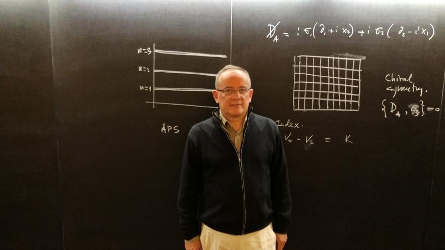 Manuel Asorey es el director científico del Centro de Ciencias de Benasque
