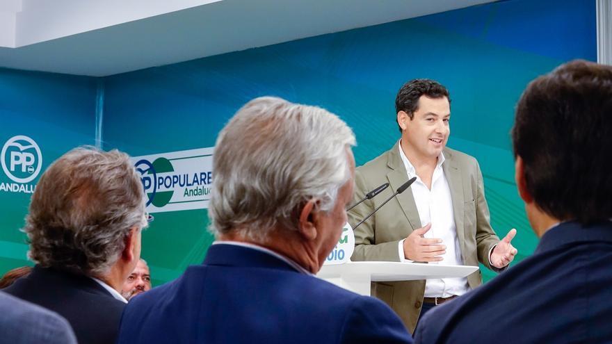 """Moreno, convencido de que PSOE-A y Cs volverán a pactar tras las elecciones """"si tienen la oportunidad"""""""