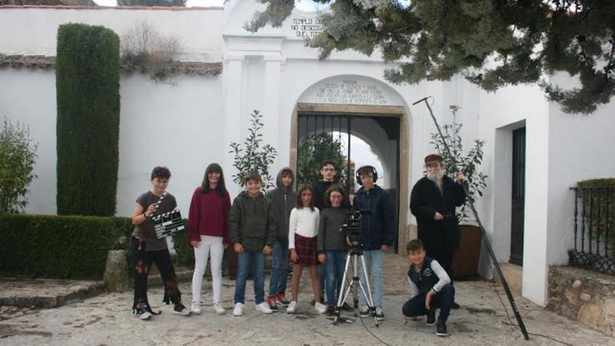 Actividad de cinematografía y videocreación con los más pequeños en Montánchez
