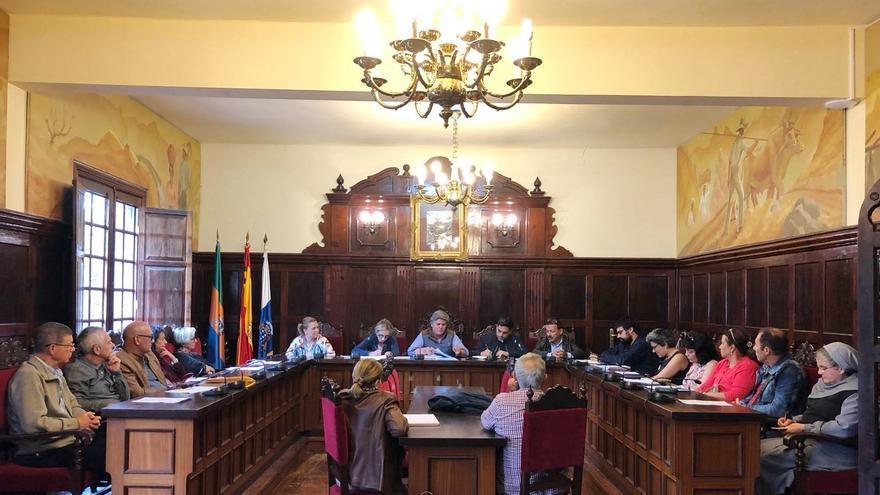 Reunión del Consejo Escolar de Los Llanos.