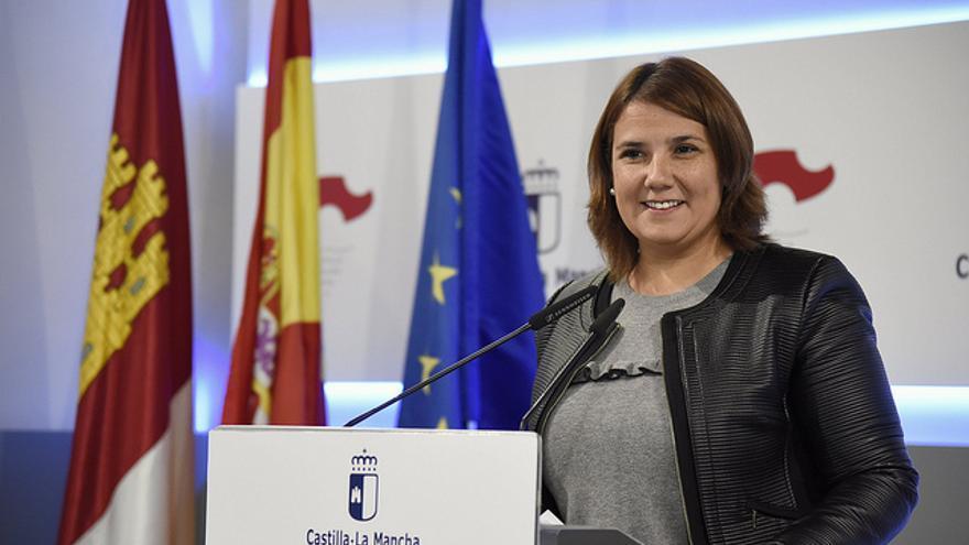 Agustina García Élez, consejera de Fomento de Castilla-La Mancha