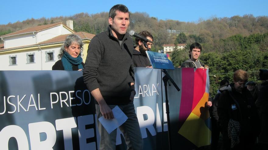 """Rodríguez (Sortu) cree que pedir una solución """"pactada y legal"""" para Cataluña es """"hacer el caldo gordo al Estado"""""""
