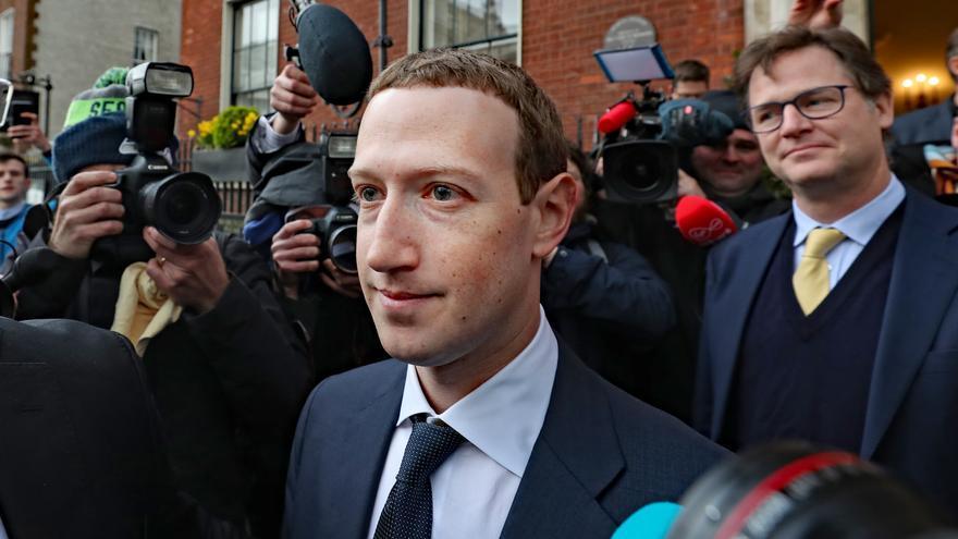 Mark Zuckerberg, fundador de Facebook, en su visita a Irlanda esta semana.