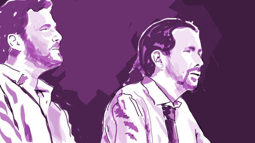 Unidos Podemos no cosechó en las urnas los resultados que adelantaban las encuestas. (Adar Santana).