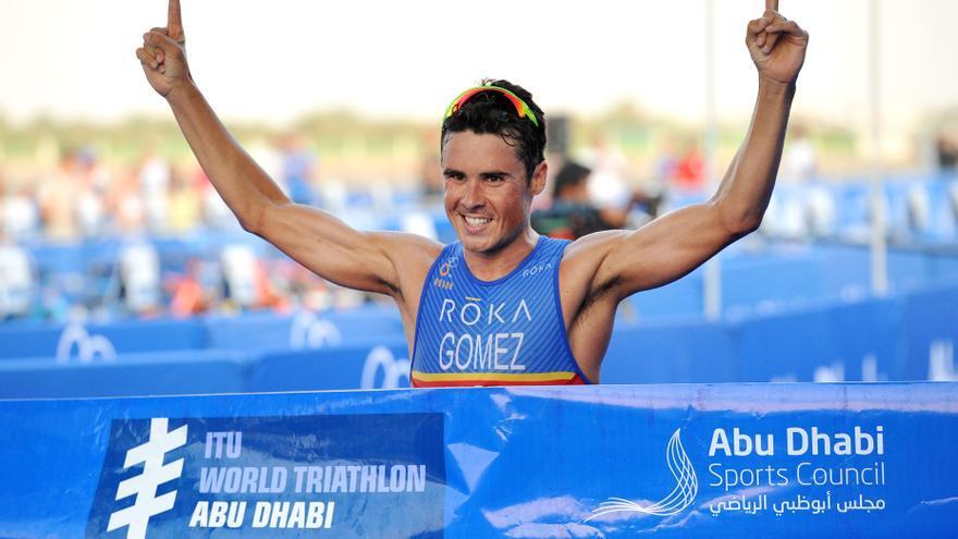 Javier Gómez Noya no ganaba una Serie Mundial desde mayo de 2015 cuando venció en Yokohama a Alistair Brownlee al sprint