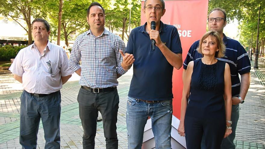 """Eduardo Madina llama a los indecisos a sumarse el domingo """"a la segunda oportunidad para el cambio"""""""