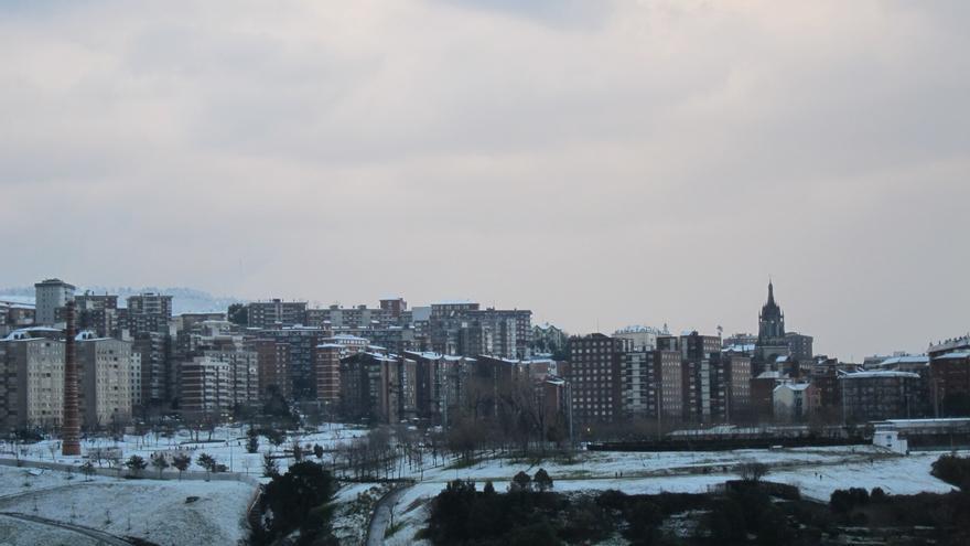 Activado al aviso amarillo por nieve para el sábado en Euskadi