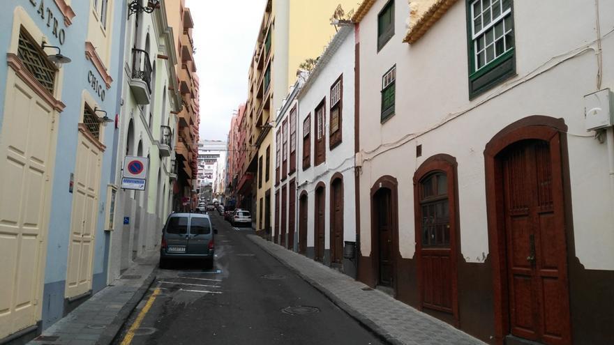Calle Día Pimienta en Santa Cruz de La Palma.