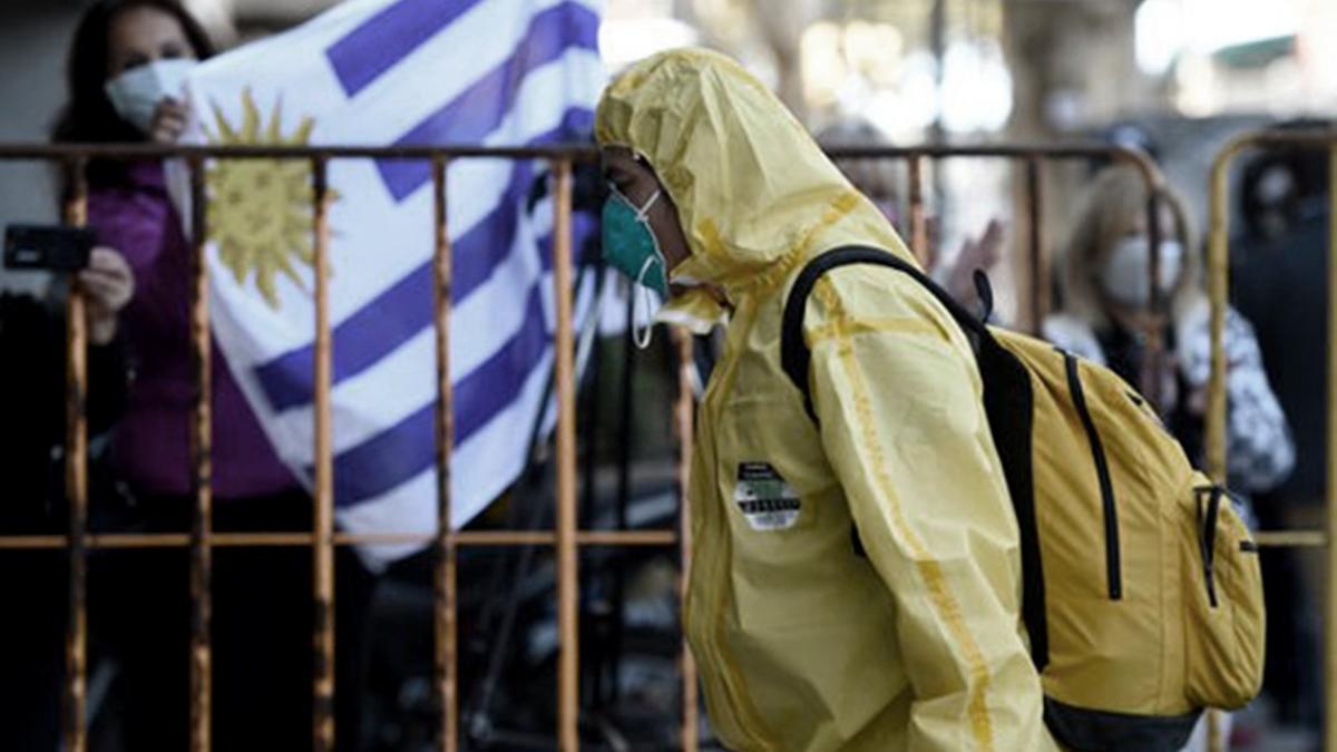 Uruguay lidera la lista de países con más casos de Covid por millón de habitantes