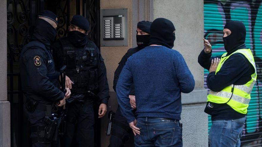 Varios detenidos en una operación contra el terrorismo yihadista en Barcelona