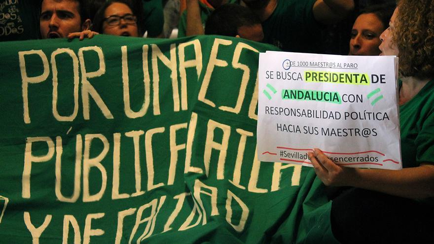 Piden una reunión con la presidenta andaluza, Susana Díaz. | JUAN MIGUEL BAQUERO