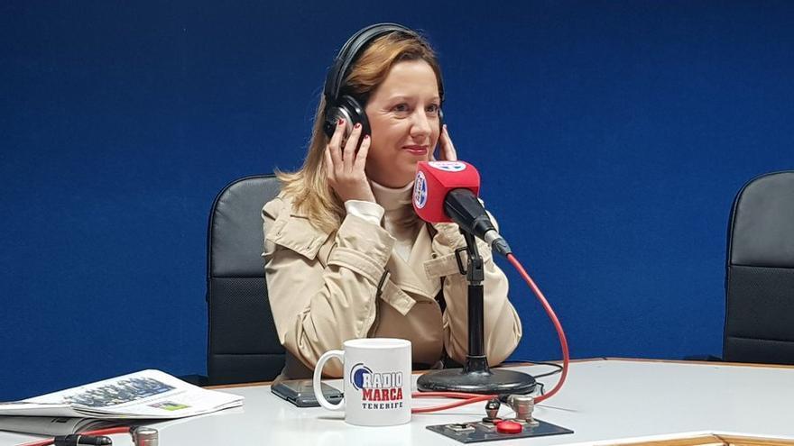 Rosa Dávila, en Radio Marca Tenerife
