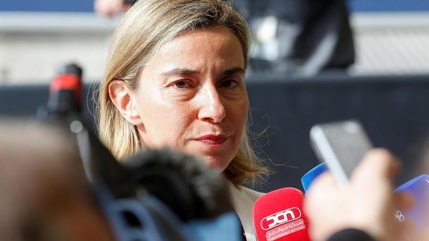 """La UE considera """"prioritario"""" que la situación en Venezuela mejore"""